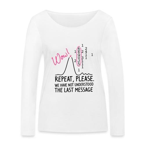 repeat please - Frauen Bio-Langarmshirt von Stanley & Stella