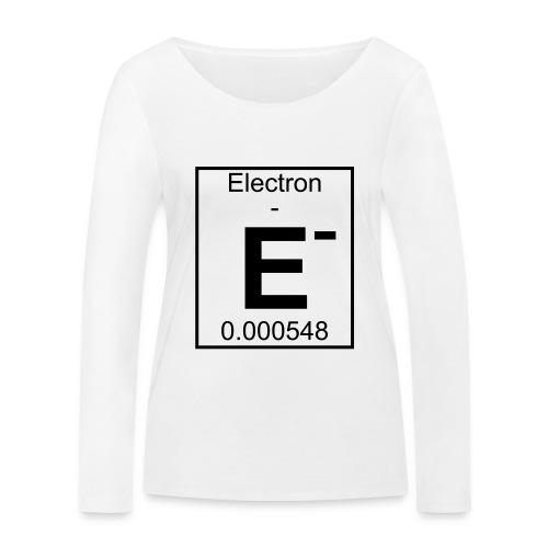 E (electron) - pfll - Women's Organic Longsleeve Shirt by Stanley & Stella