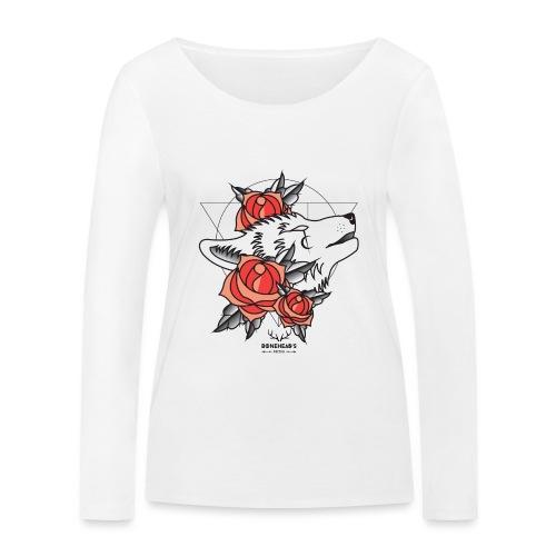 Wolfhead - Women's Organic Longsleeve Shirt by Stanley & Stella