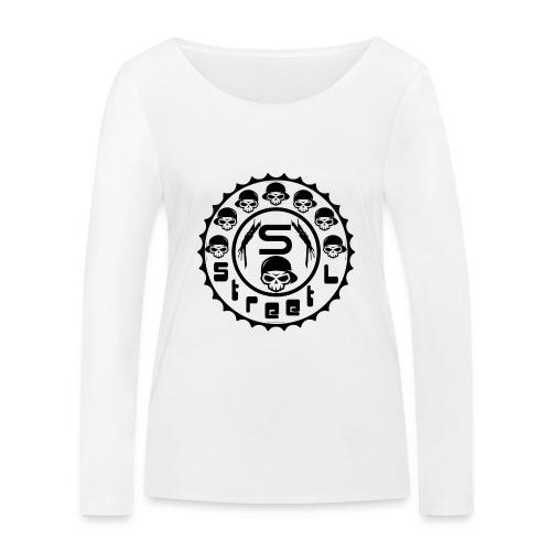 rawstyles rap hip hop logo money design by mrv - Ekologiczna koszulka damska z długim rękawem Stanley & Stella