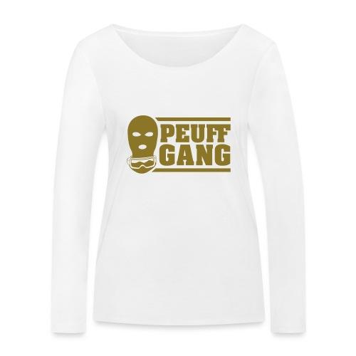 Peuff Gang Gold - T-shirt manches longues bio Stanley & Stella Femme