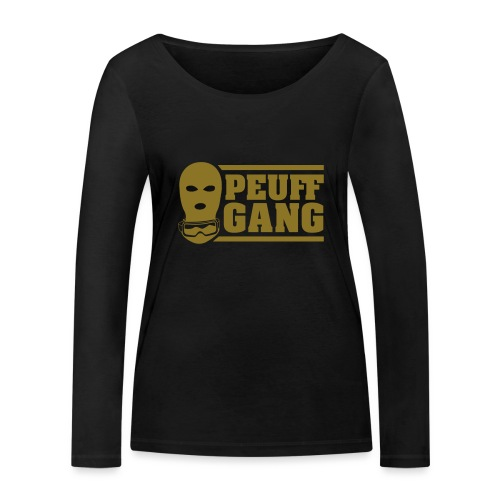Peuff Gang Gold - T-shirt manches longues bio Stanley & Stella Femme