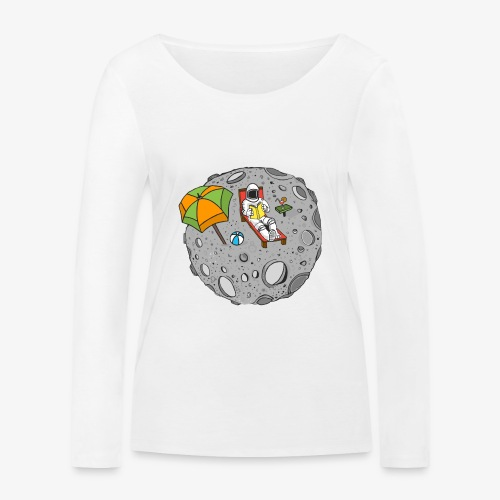 To the Moon - T-shirt manches longues bio Stanley & Stella Femme