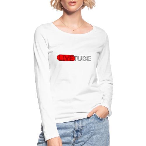 Livetube - Økologisk Stanley & Stella langærmet T-shirt til damer