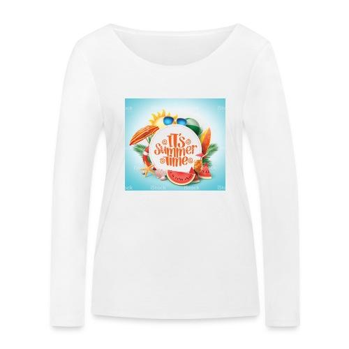 Barbaros - Ekologisk långärmad T-shirt dam från Stanley & Stella