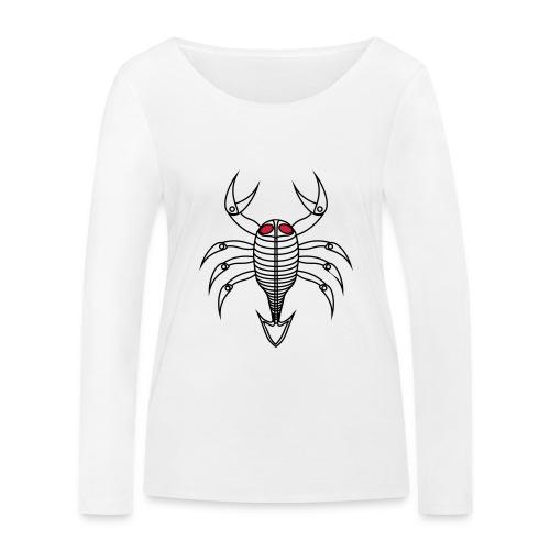scorpio - Frauen Bio-Langarmshirt von Stanley & Stella