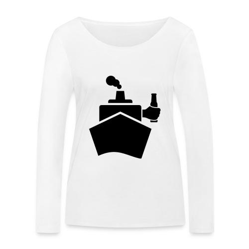 King of the boat - Frauen Bio-Langarmshirt von Stanley & Stella