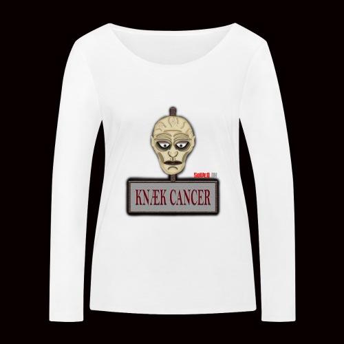 Knæk Cancer Kollektion ! - Økologisk Stanley & Stella langærmet T-shirt til damer