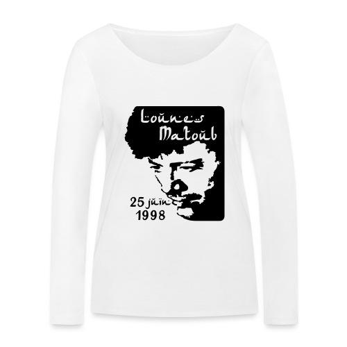Motif hommage à Lounes Matoub - T-shirt manches longues bio Stanley & Stella Femme