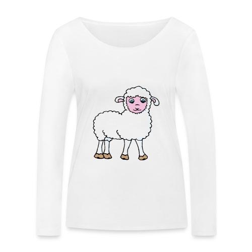 Minos le petit agneau - T-shirt manches longues bio Stanley & Stella Femme