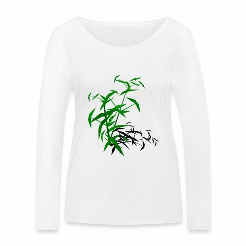 Bambou avec ombre - T-shirt manches longues bio Stanley & Stella Femme