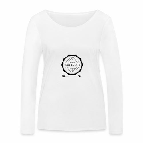 REAL ESTATE. - Camiseta de manga larga ecológica mujer de Stanley & Stella
