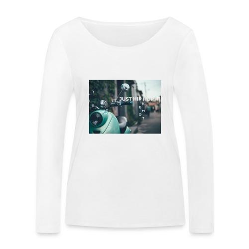 KEMOT_ - Ekologiczna koszulka damska z długim rękawem Stanley & Stella