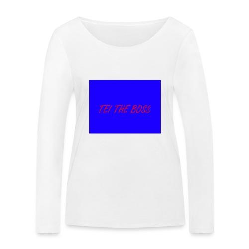 BLUE BOSSES - Women's Organic Longsleeve Shirt by Stanley & Stella