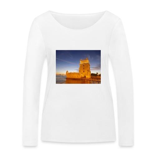 torre de Belem - Maglietta a manica lunga ecologica da donna di Stanley & Stella
