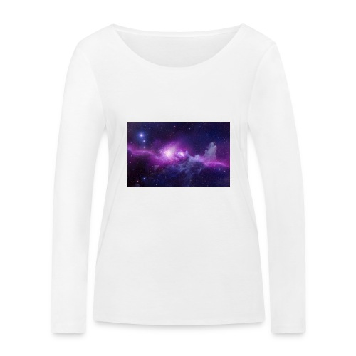 tshirt galaxy - T-shirt manches longues bio Stanley & Stella Femme