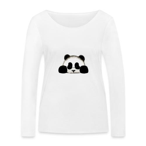 panda - Women's Organic Longsleeve Shirt by Stanley & Stella