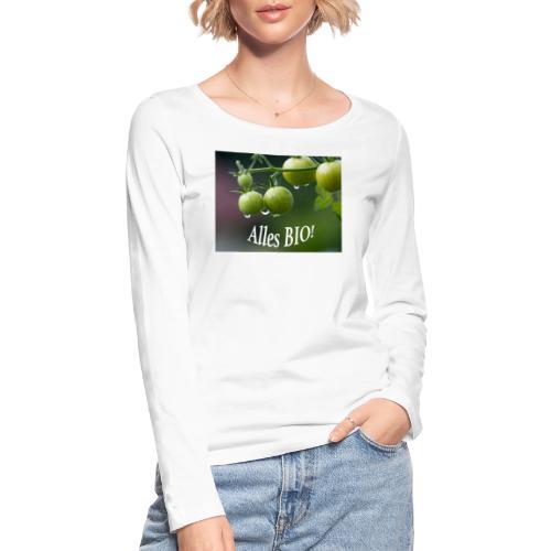 Alles BIO - Frauen Bio-Langarmshirt von Stanley & Stella