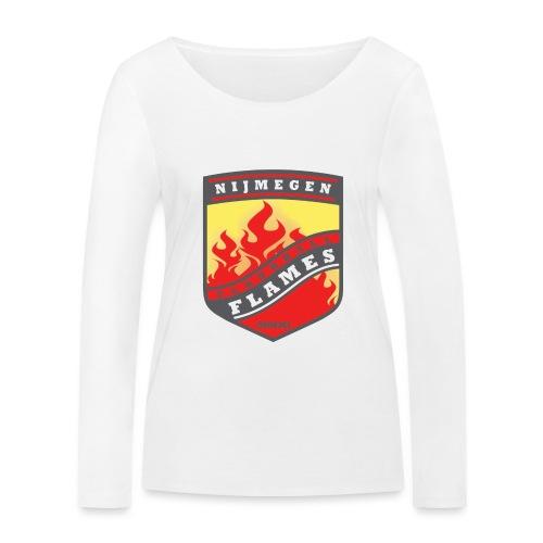 trainingsjack rood - Vrouwen bio shirt met lange mouwen van Stanley & Stella