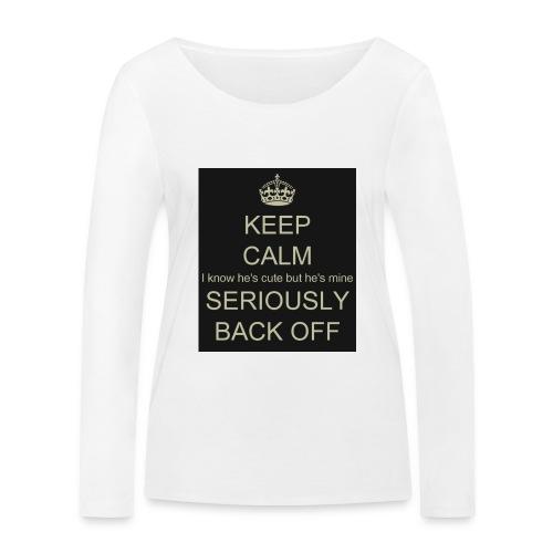 He is mine tanktop - Økologisk Stanley & Stella langærmet T-shirt til damer