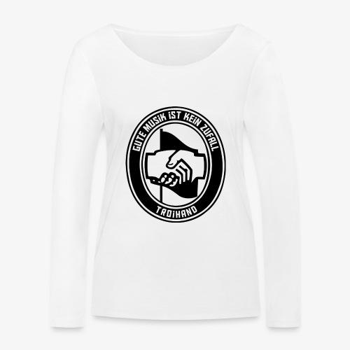 Logo Troihand - Frauen Bio-Langarmshirt von Stanley & Stella