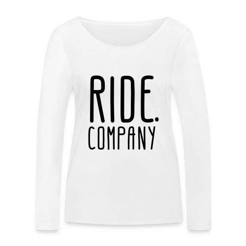 RIDE.company - just RIDE - Frauen Bio-Langarmshirt von Stanley & Stella