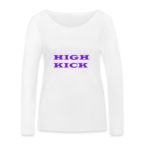 HIGH KICK HOODIE [LIMITED EDITION] - Women's Organic Longsleeve Shirt by Stanley & Stella