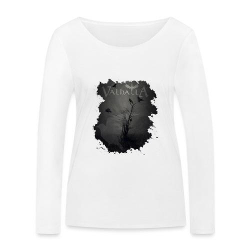 valhalla ravens - Økologisk Stanley & Stella langærmet T-shirt til damer