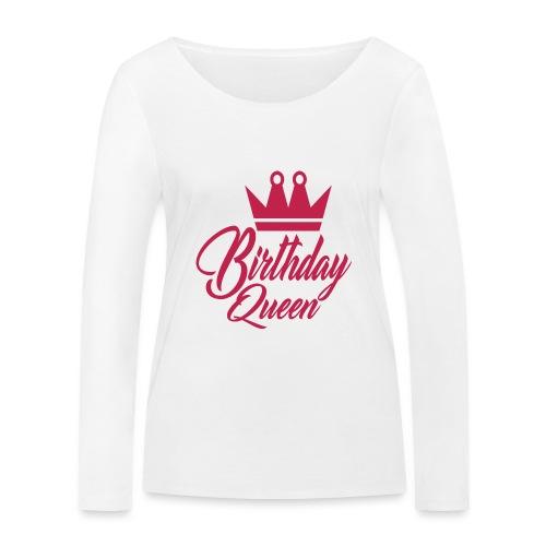 birhtday logo - T-shirt manches longues bio Stanley & Stella Femme