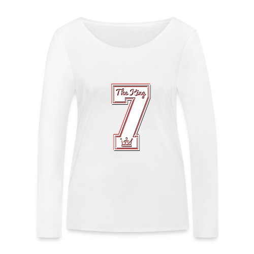 Collection THE KING 7 - T-shirt manches longues bio Stanley & Stella Femme