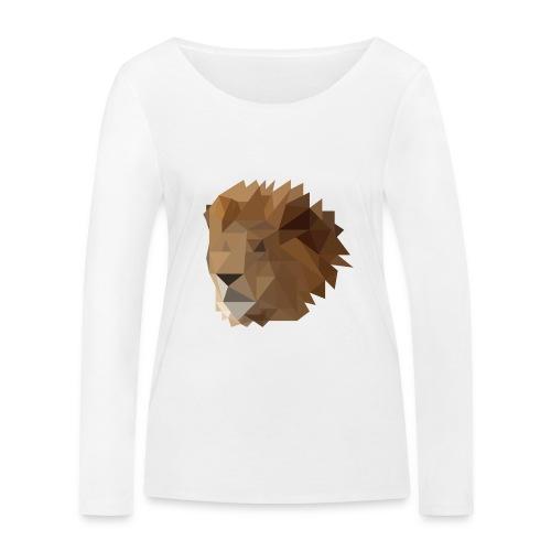 Löwe - Frauen Bio-Langarmshirt von Stanley & Stella