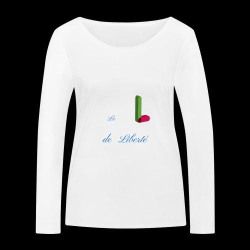 Alphabet - T-shirt manches longues bio Stanley & Stella Femme