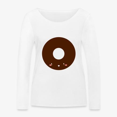 Happy Doughnut - Women's Organic Longsleeve Shirt by Stanley & Stella
