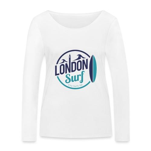 London Surf Classic Logo - Women's Organic Longsleeve Shirt by Stanley & Stella