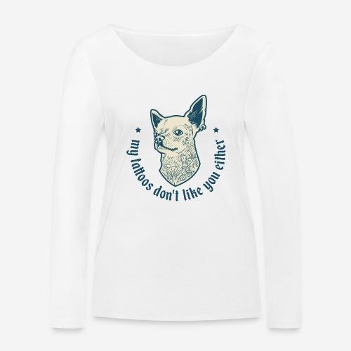 tätowieren - Frauen Bio-Langarmshirt von Stanley & Stella