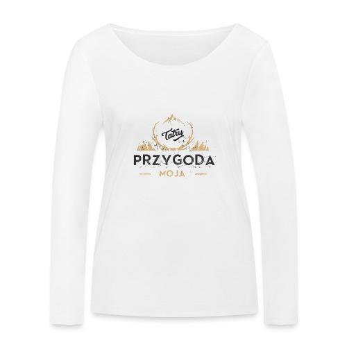 Łukasz Sobczak - Ekologiczna koszulka damska z długim rękawem Stanley & Stella
