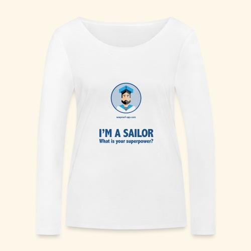 SeaProof Superpower - Frauen Bio-Langarmshirt von Stanley & Stella