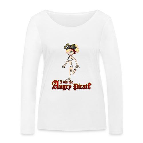 The Angry Pirate (Man) - Frauen Bio-Langarmshirt von Stanley & Stella