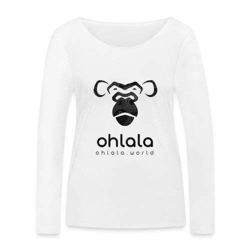 Ohlala Retro BLACK - T-shirt manches longues bio Stanley & Stella Femme