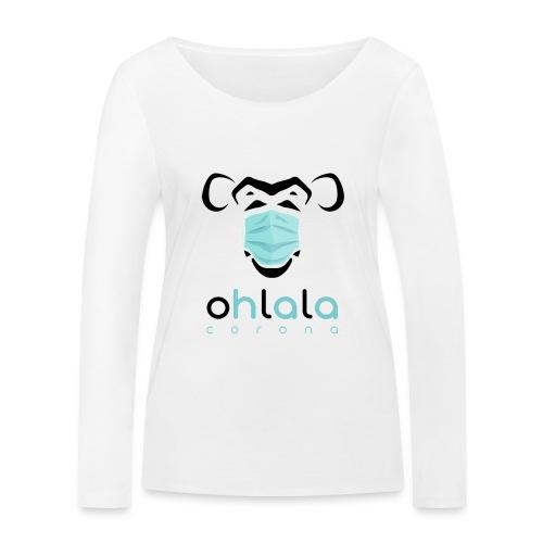 OHLALA CORONA WHITE - T-shirt manches longues bio Stanley & Stella Femme