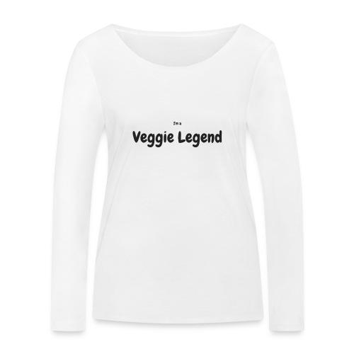 I'm a Veggie Legend - Women's Organic Longsleeve Shirt by Stanley & Stella