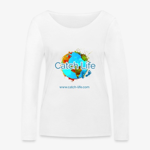 Catch Life Color - Women's Organic Longsleeve Shirt by Stanley & Stella