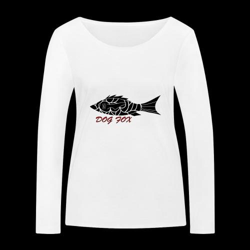 Dogfox Fisch - Frauen Bio-Langarmshirt von Stanley & Stella