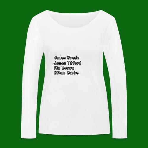 Glog names - Women's Organic Longsleeve Shirt by Stanley & Stella