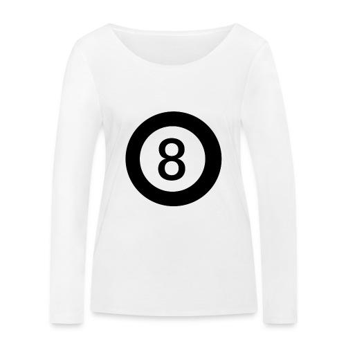 Black 8 - Women's Organic Longsleeve Shirt by Stanley & Stella