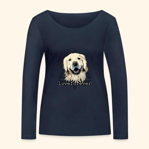 RETRIEVER LOVE FOREVER - Camiseta de manga larga ecológica mujer de Stanley & Stella