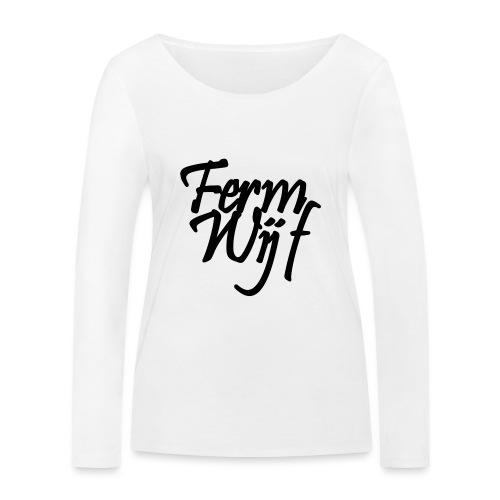 Ferm Chienne - T-shirt manches longues bio Stanley & Stella Femme