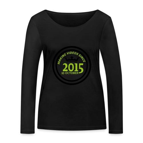 2015-10-10 - Ekologisk långärmad T-shirt dam från Stanley & Stella