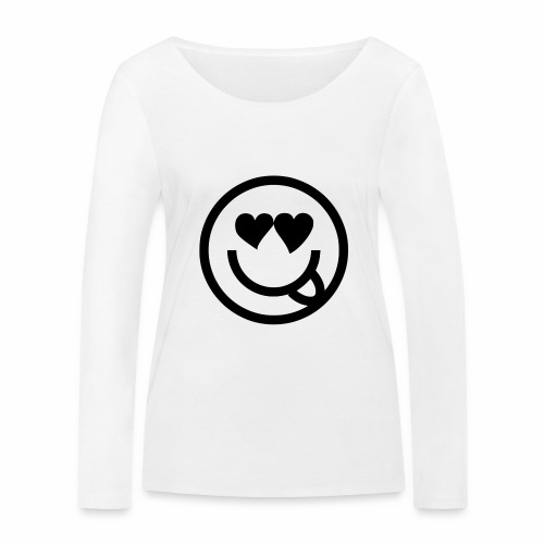 EMOJI 19 - T-shirt manches longues bio Stanley & Stella Femme