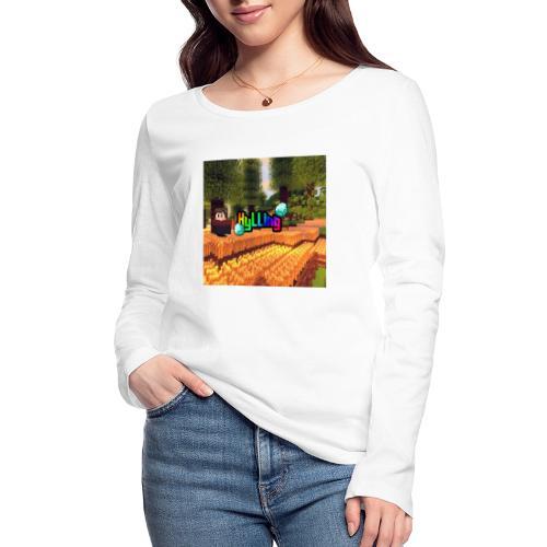 xxkyllingxx Logo på twitch - Økologisk Stanley & Stella langærmet T-shirt til damer